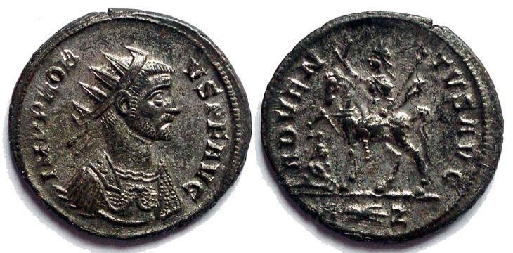 Aureliano de Probo. ADVENTVS AVG. Roma R155.081104.AP