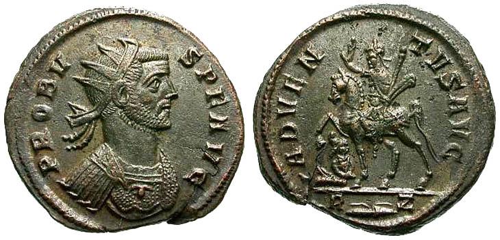 Aureliano de Probo. ADVENTVS AVG. Roma R158.180602.AT