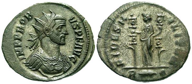 Aureliano de Probo. FIDES MILITVM. Roma R169.122201.SERMARINI