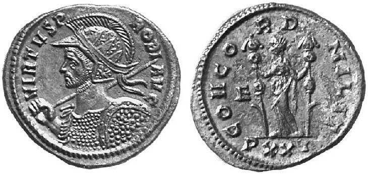 Aureliano de Probo. CONCORD MILIT. Ticino (serie EQVITI). R481.020302.MMD