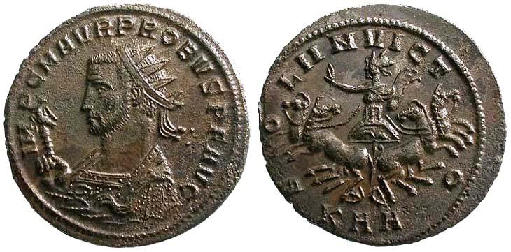 Aureliano de Probo. SOLI INVICTO. Sėrdica  R861.130902.AT